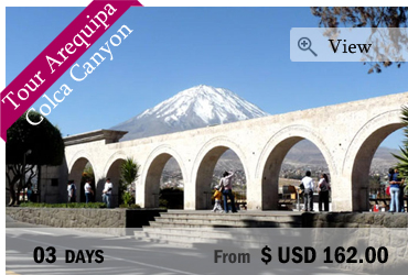 Tour Arequipa and Colca Canyon 3 Days