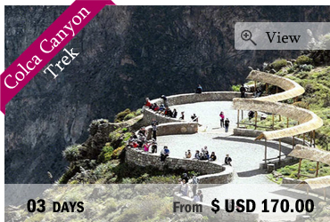 Colca Canyon Trek (3 days)