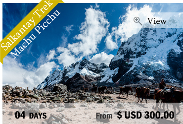 Salkantay Trek to Machu Picchu (4 Days)